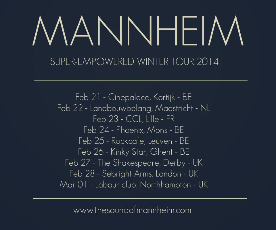 MANNHEIM Winter tour 2014