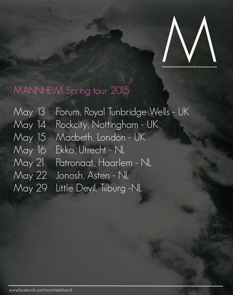 Mannheim spring tour 2015