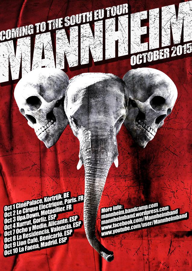 MANNHEIM - EU tour