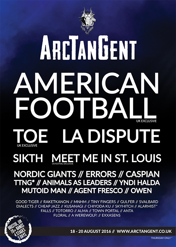 MNHM at ArcTanGent
