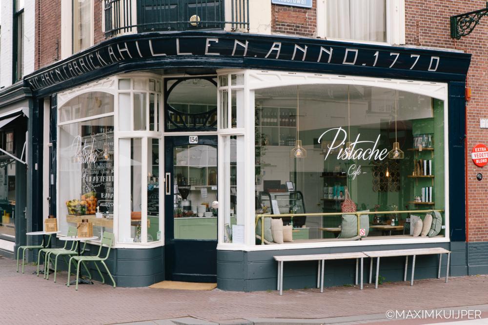 Verfwinkel Den Haag : Pistache