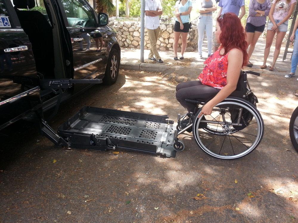 Accessible Parking Alert