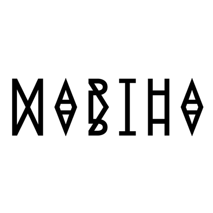 Logo for the band Martha Martha
