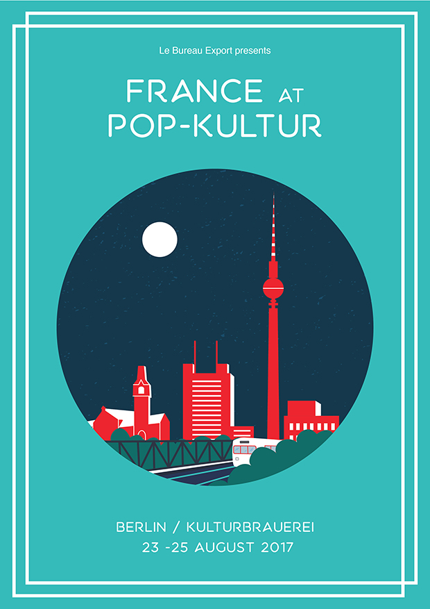 France at Pop Kultur festival