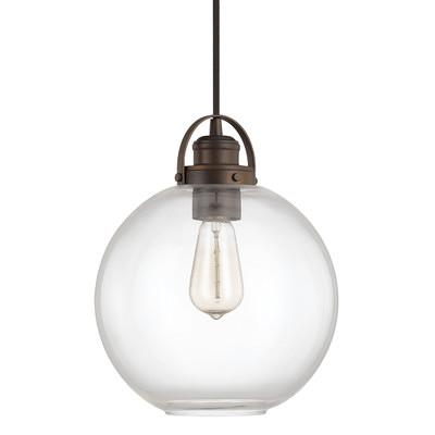 Norman 1 Light Globe Mini Pendant by Capital Lighting- $83.99
