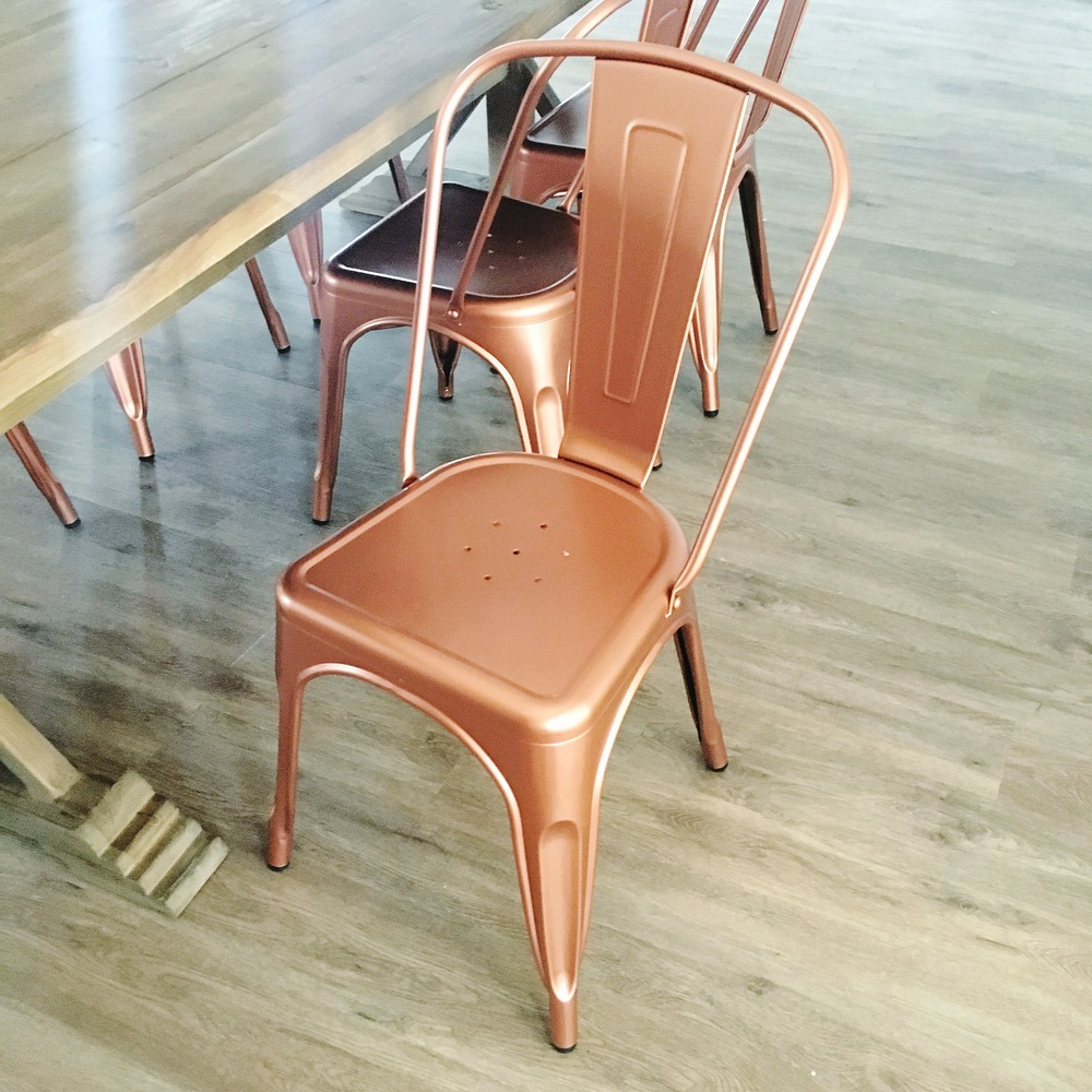 Copper Cafe Chair Wayfair