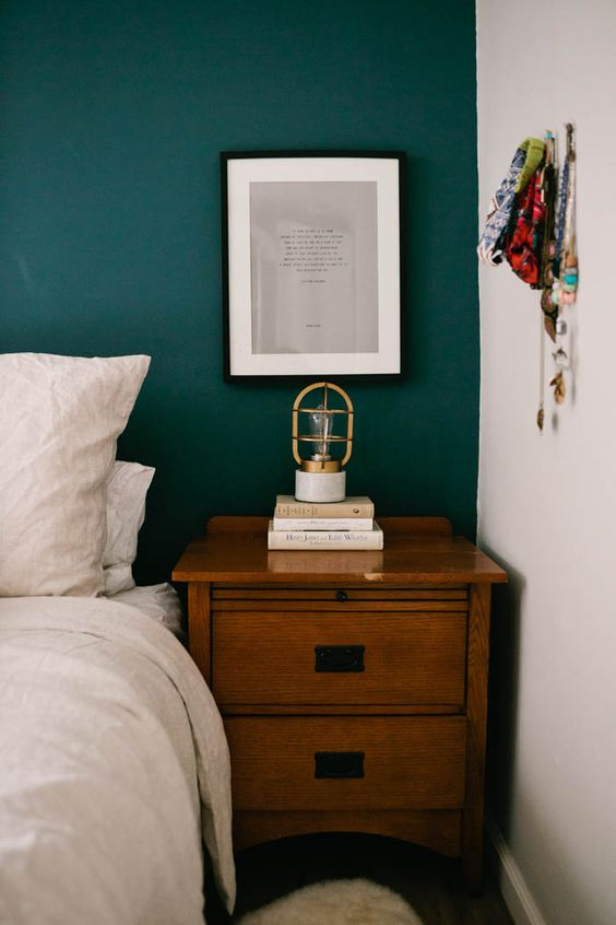 Dark Turquoise Boho Bedroom Inspiration S T U D I O G