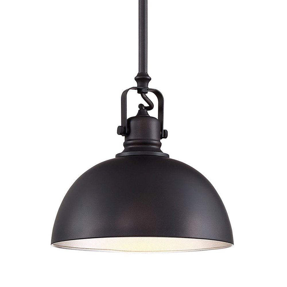 "Revel Belle 9"" Contemporary 1-Light Pendant Light  - $54.99"