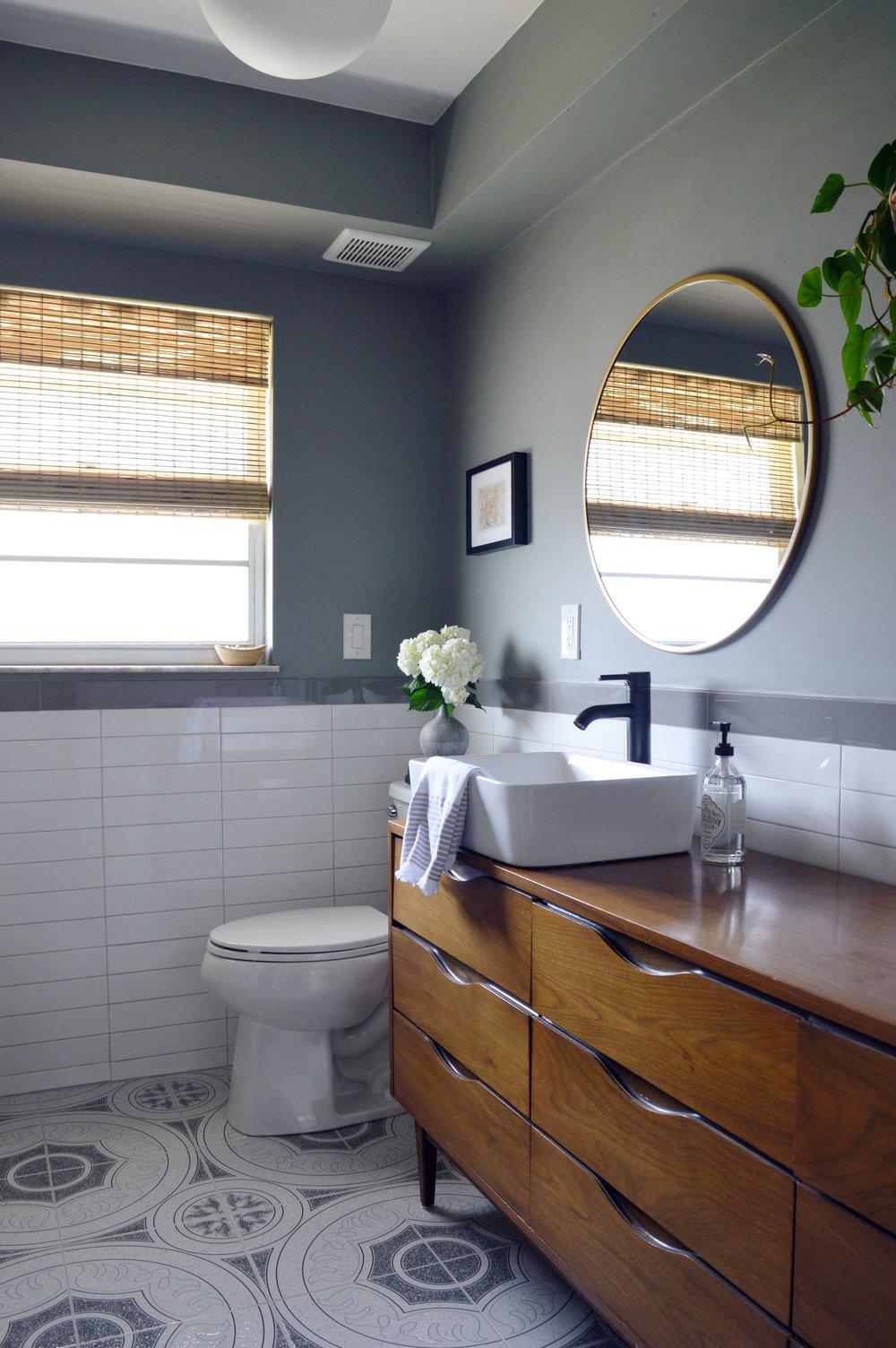 Orlando Interior Designer's Guest Bathroom Renovation