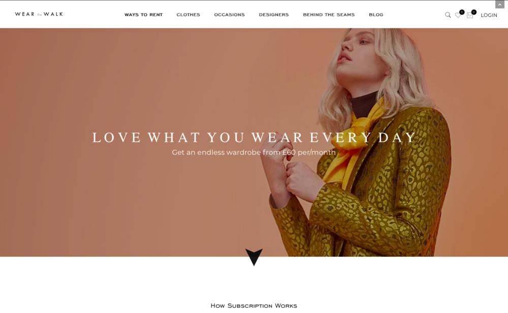 Wear the Walk Website