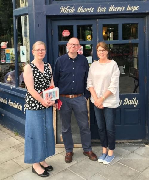 Emma Darwin, Francis Spufford & me, Kellie