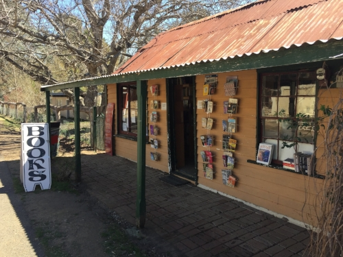 Slado's second hand bookshop, Sofala.
