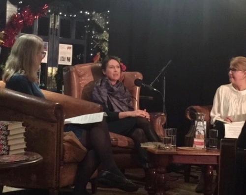 L-R: With Emma Darwin & Zoe Gilbert