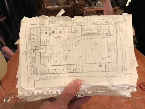 Antonia's map of the Marshalsea prison