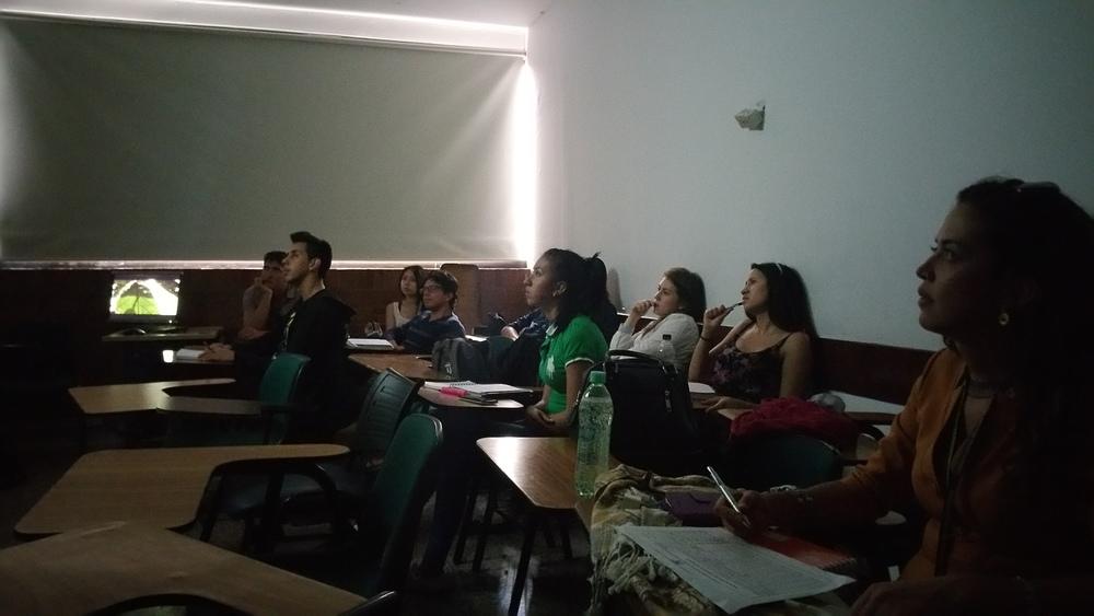 Clase de la Universidad Militar Nueva Granada de Historia de América Latina y Movimientos Sociales