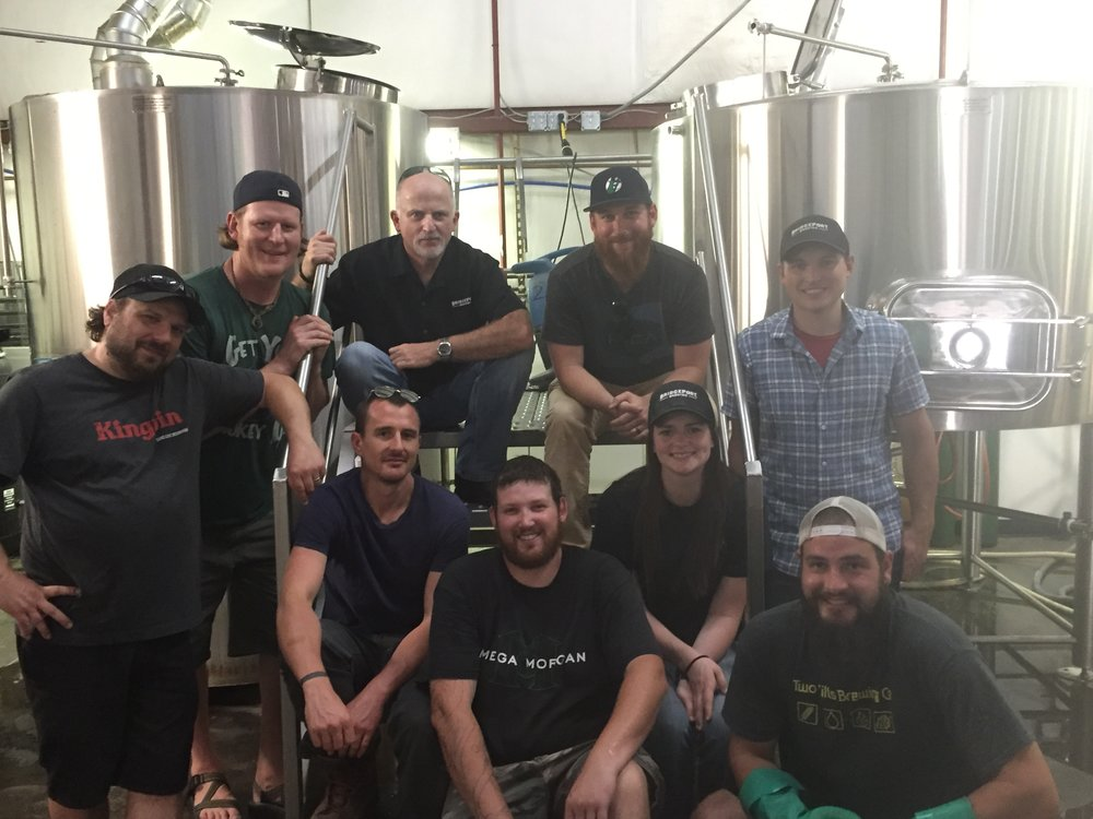 Huge THANK YOU! to Bridgeport Brewing this summer! We loved working together on our Bridge to Sherwood collaboration! Cheers!