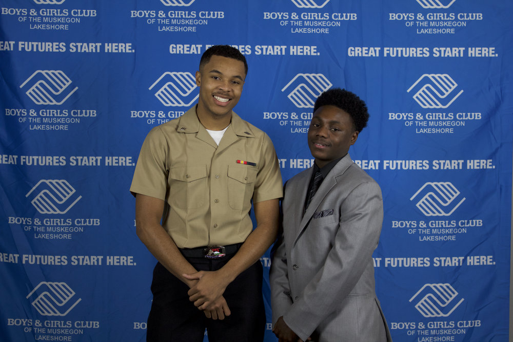 2017 YOY Winner Antonio Thomas With 2016 YOY Winner Devon Kitchen