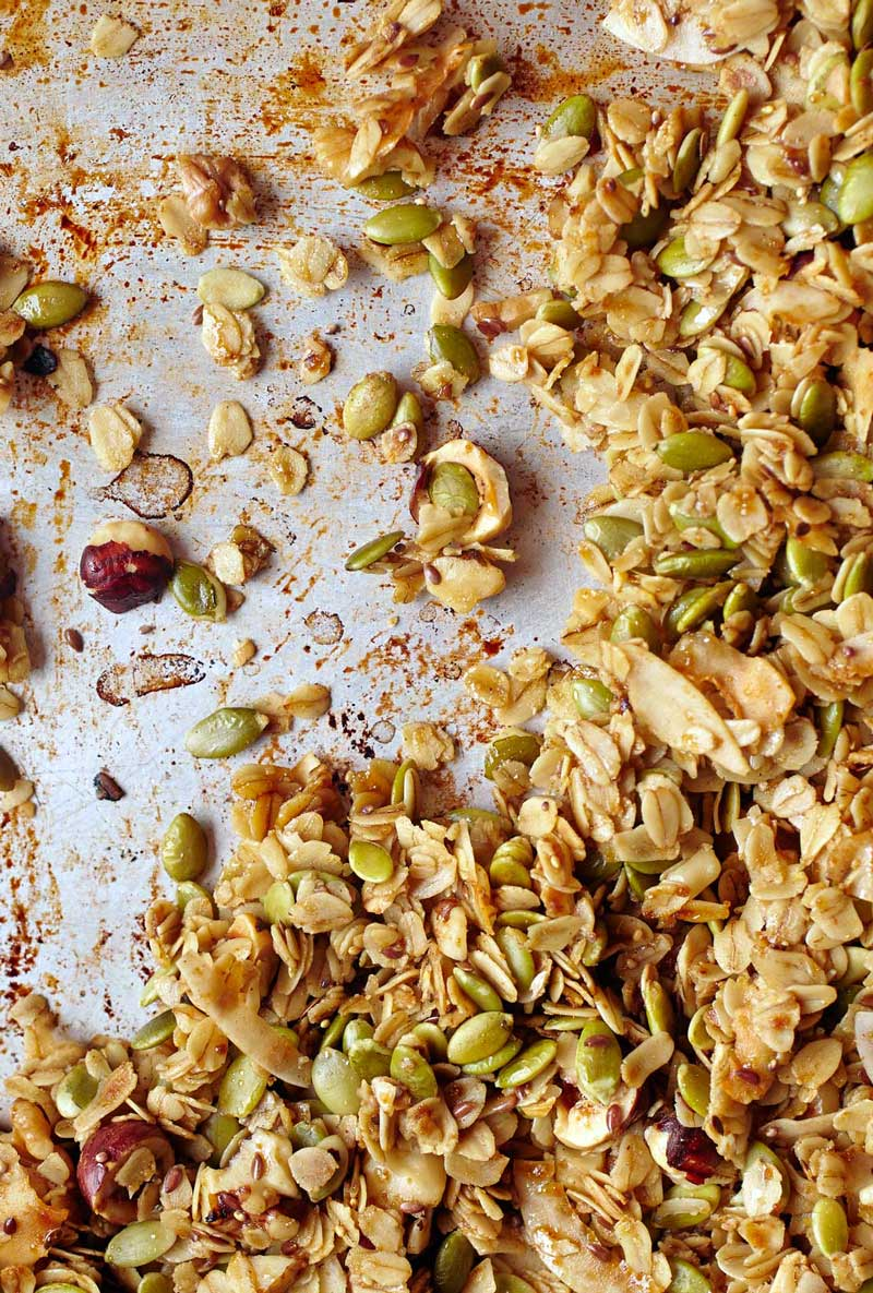 how to make granola bars from scratch