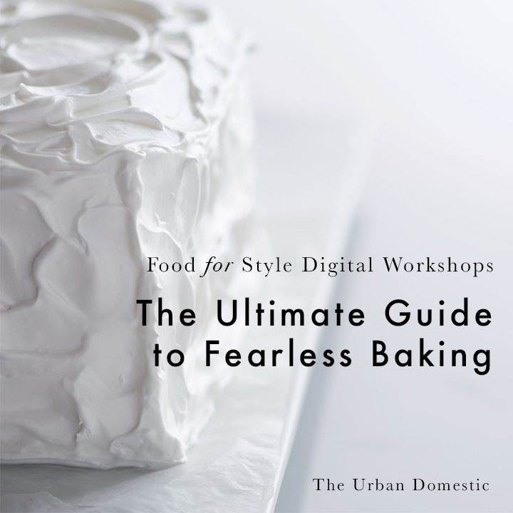 The Ultimate Guide to Fearless Baking Essential cookbooks and resources plus pantry stocking tips and equipment lists in one guide.