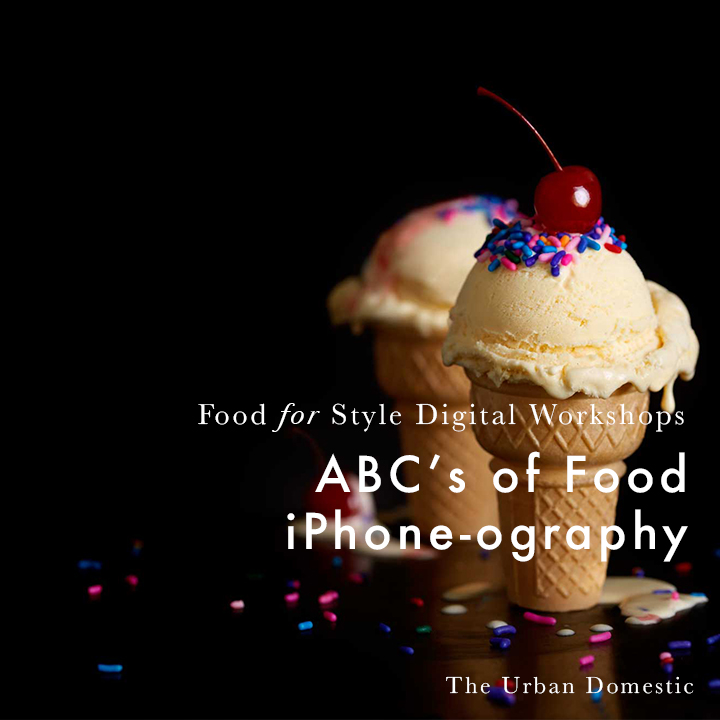 The ABC's of Food iPhone-ography 5 tips for taking more beautiful food pictures with your phone.