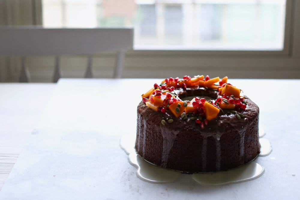 persimmon cake recipe