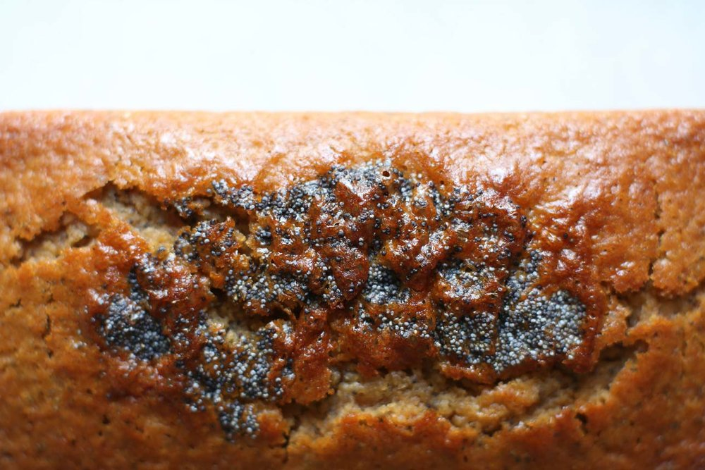 gluten free poppy seed tea cake