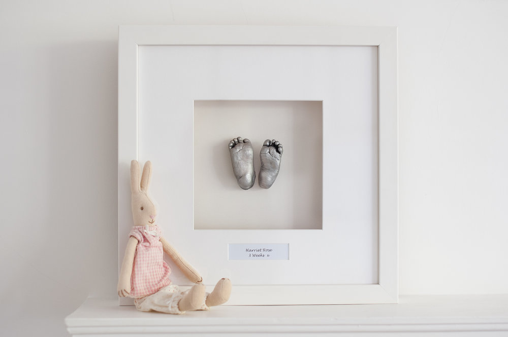 Double Casting - White Frame - £110.00