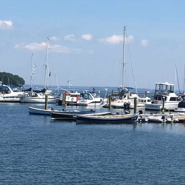 The harbor in Camden, Maine. July 2016