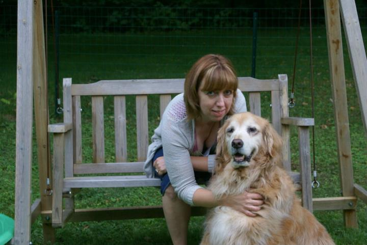 This is me and the beautiful Miss Molly. She was a pup when I decided to share my days with dogs as a groomer. She is my inspiration and will always be my teacher. I still listen to her words of wisdom every day from her peaceful place in heaven.