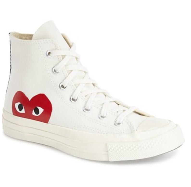 Comme des Garçons PLAY x Converse Chuck Taylor® - 'Hidden Heart' High Top Sneaker