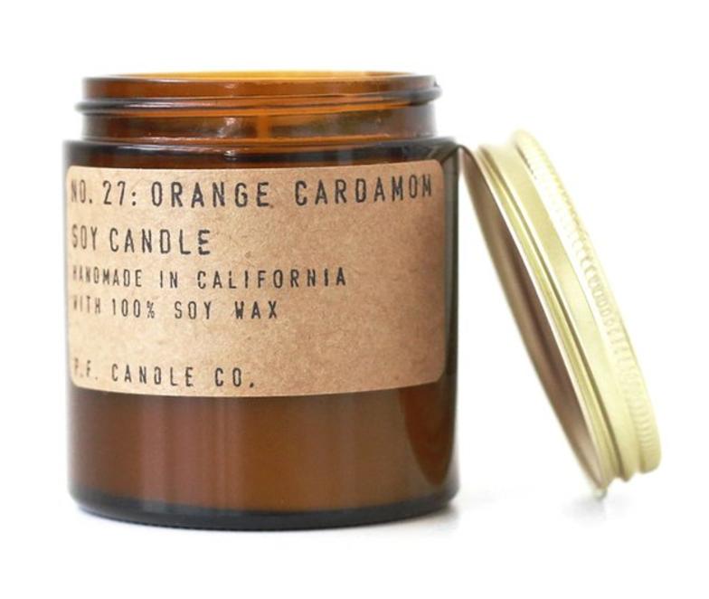 No. 27 Orange Cardamom Soy Candle