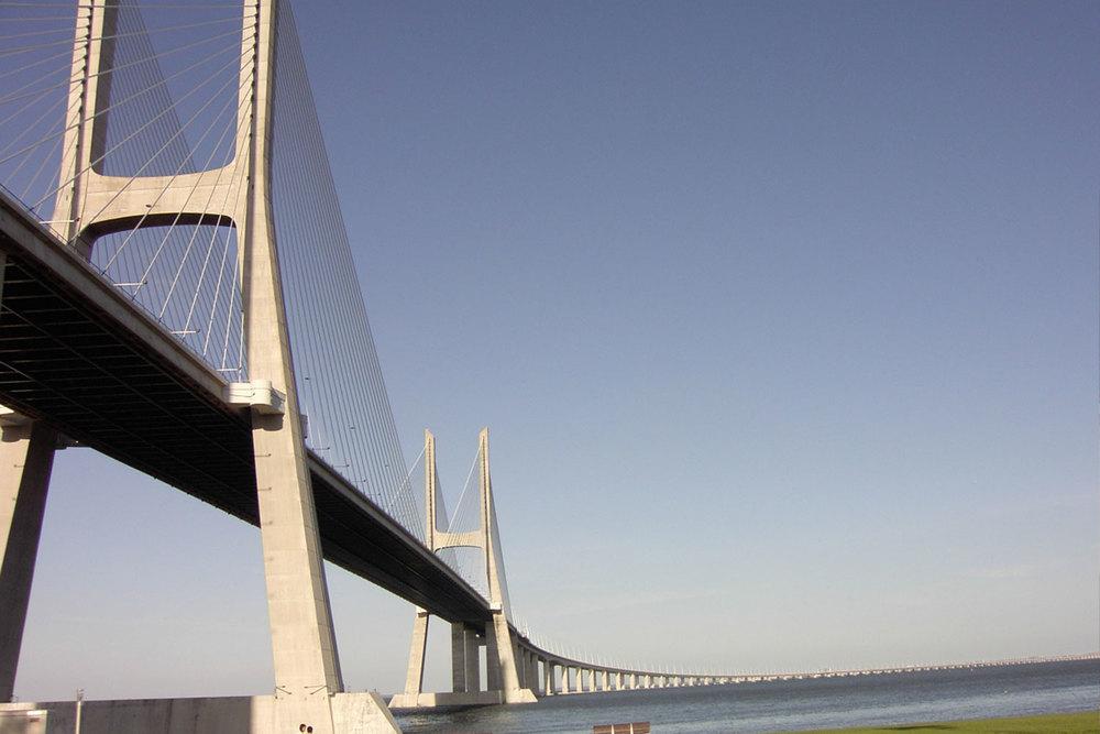 @ Ponte Vasco da Gama