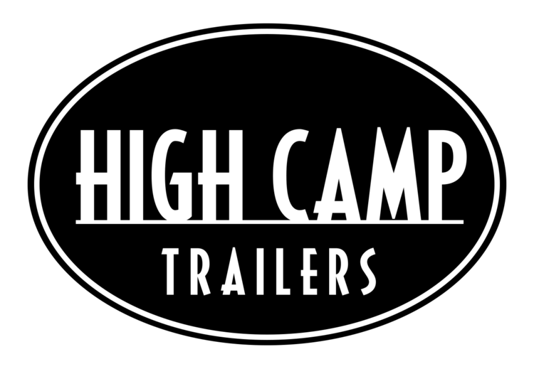 High Camp Trailers compact camping teardrop trailers