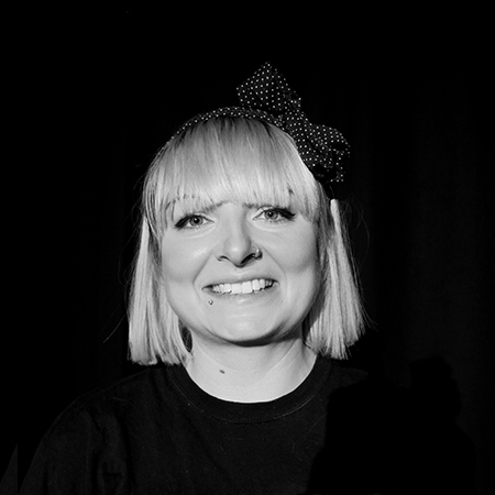 VICKI - VICKI is a dancer and choreographer specialising in inclusive practice.  She trained in Dance (BA) at Roehampton University.