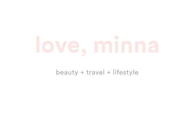 Love, Minna : Beauty & Lifestyle Blog