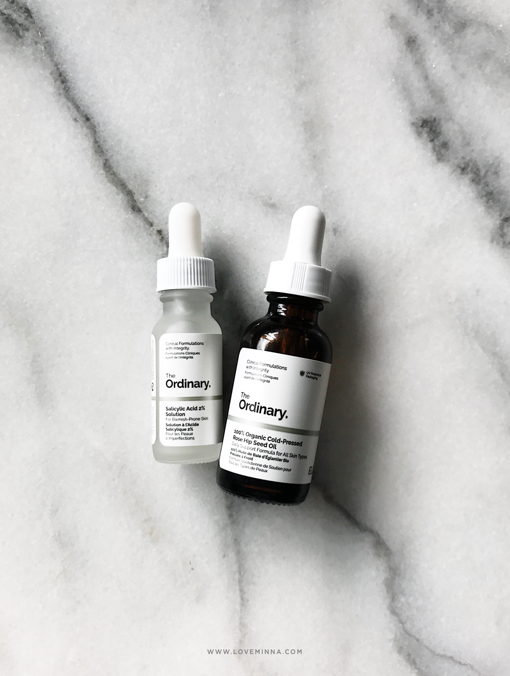 The Ordinary Rose Hip Seed Oil Salicylic Acid Solution