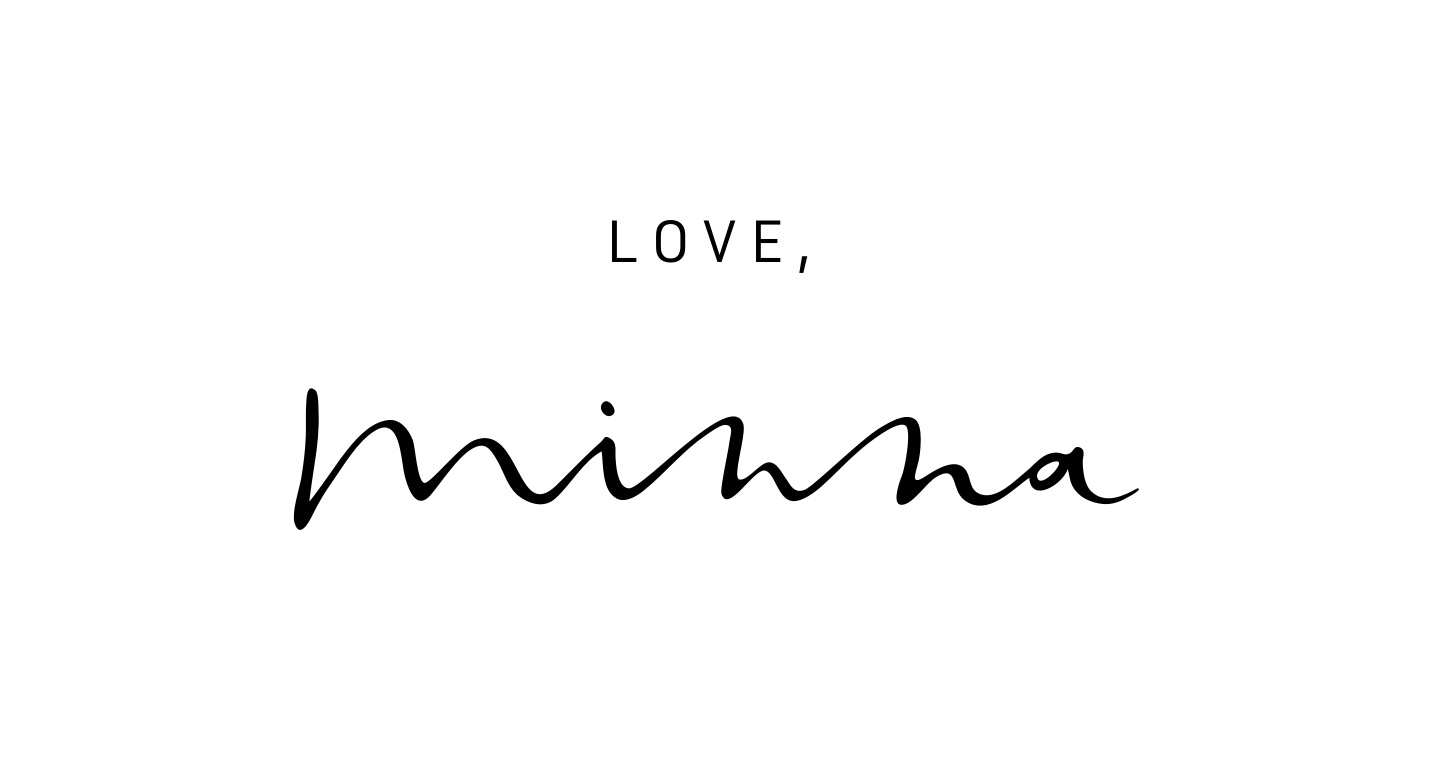 Love, Minna : Beauty & Lifestyle Blog by Minna So