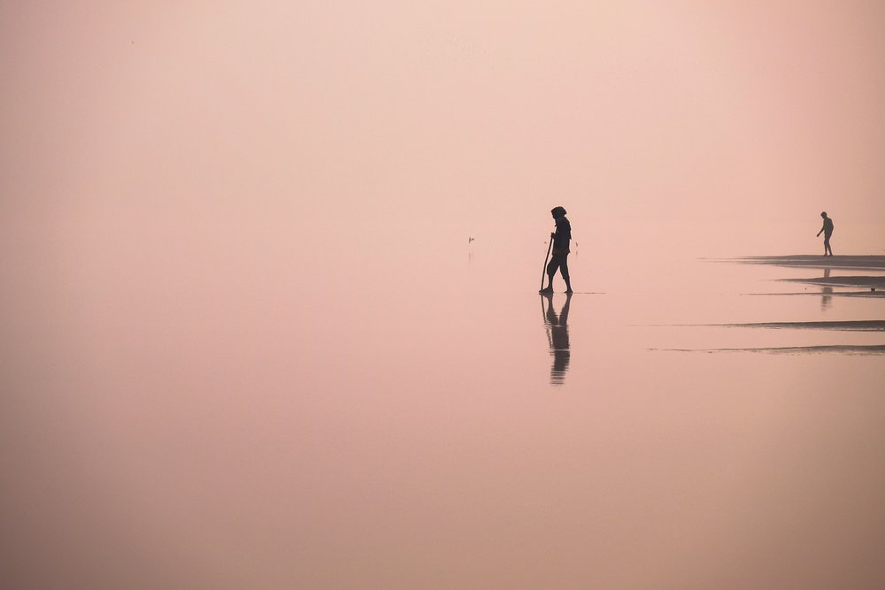 Walking on water…