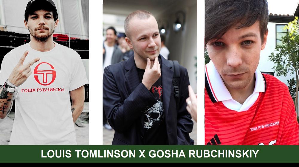 2aff6b05087 Louis Tomlinson x Gosha Rubchinskiy