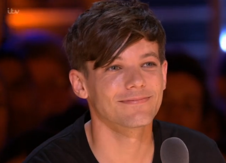 Louis listening to Tre Amici