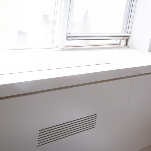 #custom radiator cover — clean lines, clean lives #millwork #handcrafted #details #quality #woodworking
