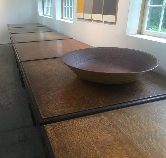 A big Winthrop Byers bowl at @coreydanielsgallery