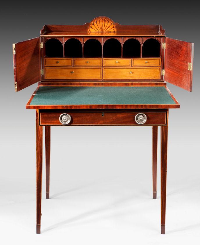 ANTIQUE GEORGE III BONHEUR DU JOUR - Furniture For Sale — Cull Antiques