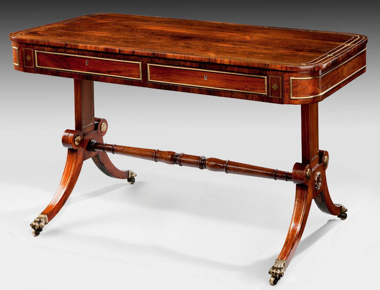 ANTIQUE REGENCY ROSEWOOD WRITING TABLE. Furniture for Sale   Cull Antiques