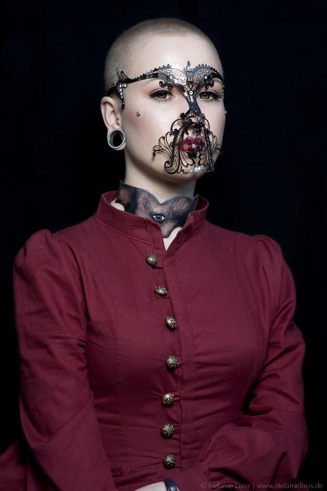 Porträts von Besuchern des Wave Gotik Treffens