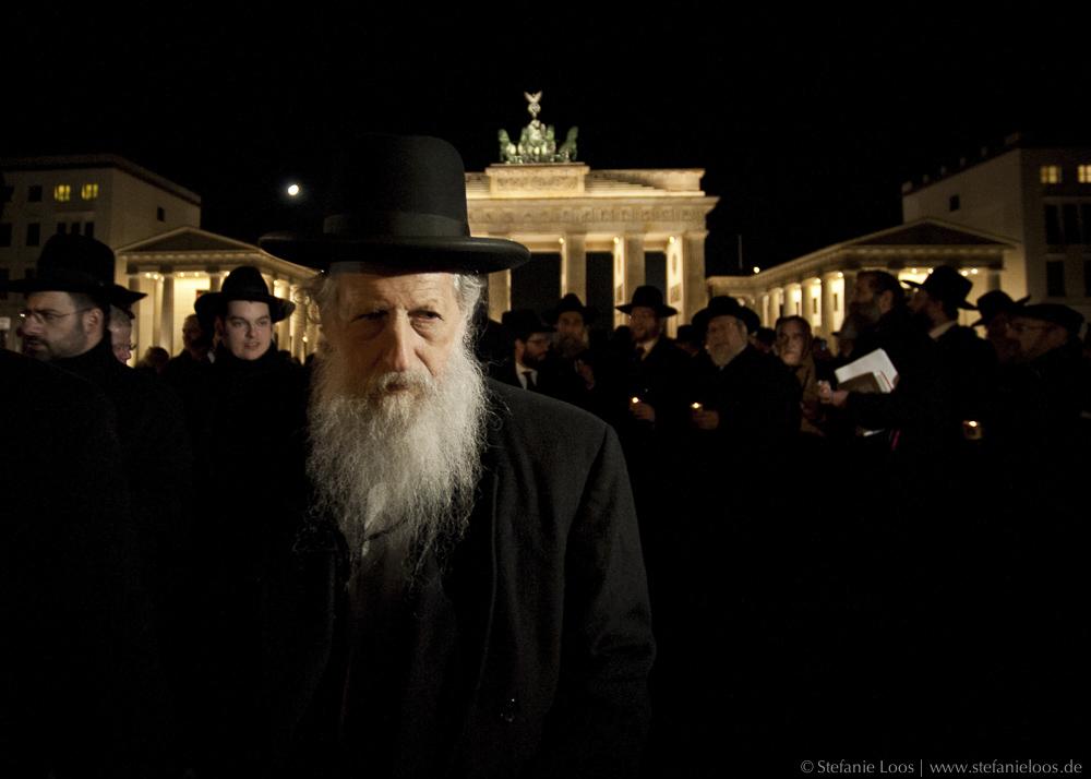 Rabbiner vor dem Brandenburger Tor