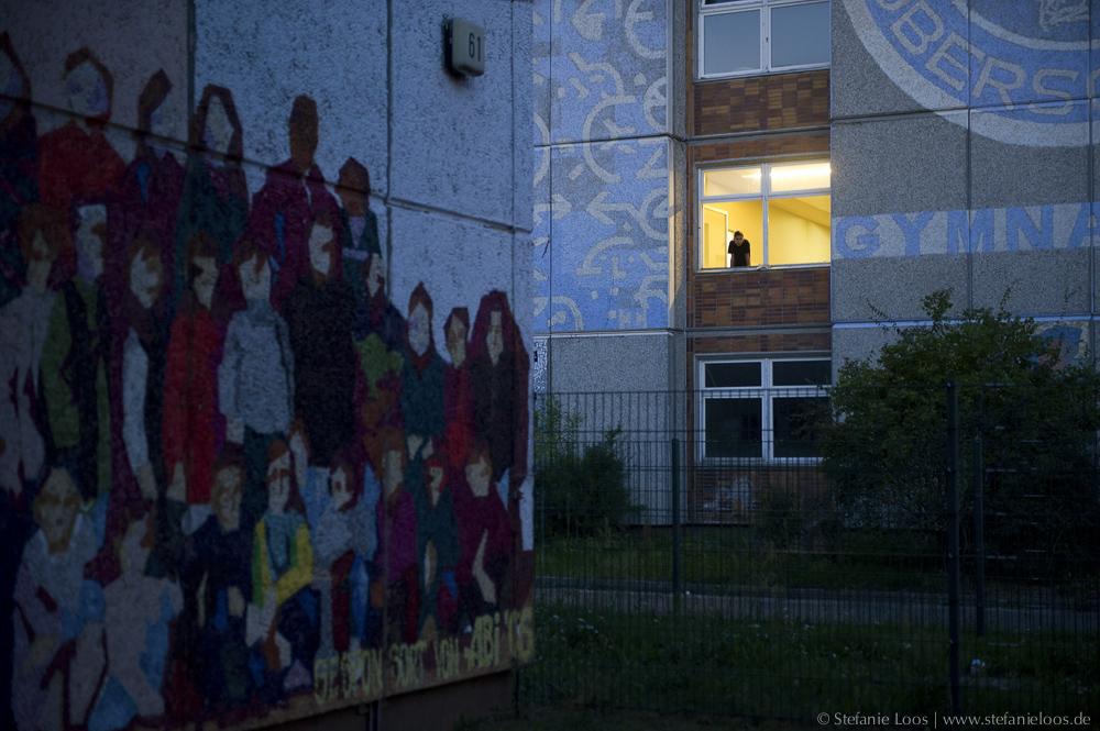 Asylbewerberheim in Hellersdorf