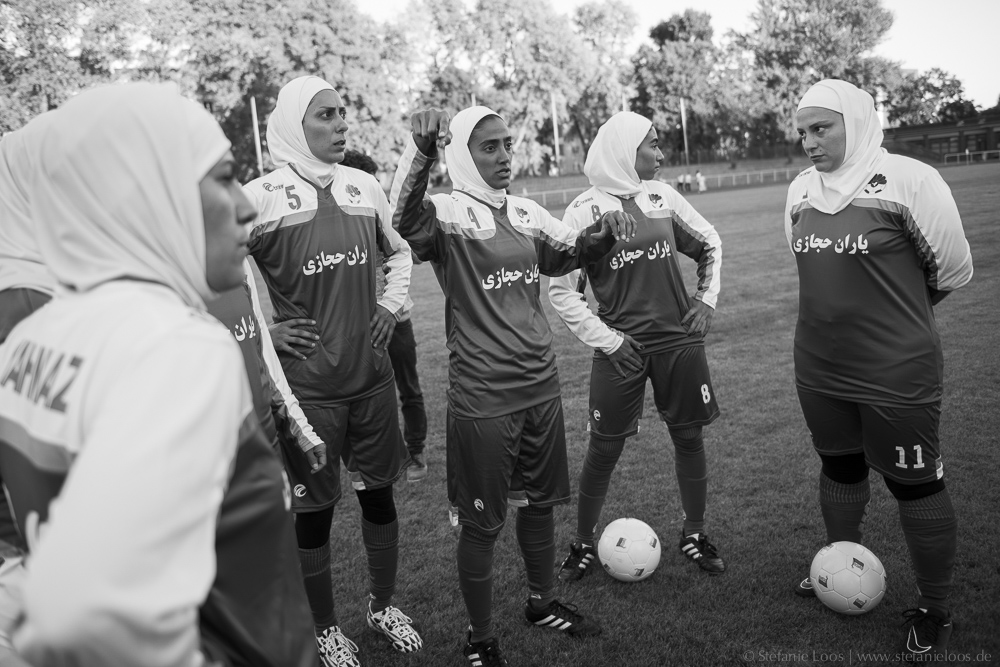 Iranische Frauenfußballmannschaft