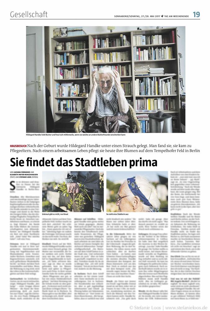 Gärtnerin Hildegard Handke - Text von Luciana Ferrando und Elisabeth Meyer-Renschhausen