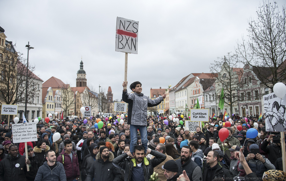 "Demonstration ""Leben ohne Hass"""